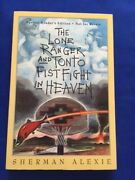 The Lone Ranger And Tonto Fistfight In Heaven - Arc Signed By Sherman Alexie