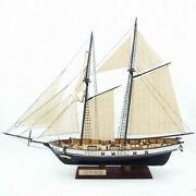 Wooden Sailing Boat Ship Assembly Model Diy Kits Classical Scale Decoration Wood