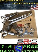 Srs Tuning Y Pipe And Catted Down Pipe Full T-304 For 2003-2006 Nissan 350z