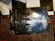 Fantastic Four 27x40 Bus Shelter 2015 Movie Poster