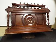19th Century Antique Large Victorian Bible Stand - 21 X 24
