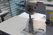 Highlead Gc24608-1r Post Bed Single Needle Walking Foot Sewing Machine