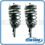 2x Quick Complete Front Struts Coil Spring Assembly For 90-95 Ford Taurus
