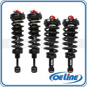 4x Quick Complete Strut Spring Coil Shock Assembly For 03-06 Ford Lincoln 5.4l