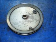 Craftsman Gt 46 Snow Blower Thrower Atachment Large Center Drive Pulley 9 Inch