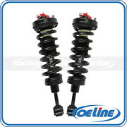 2x Quick Complete Front Strut Coil Spring Assembly For 03-06 Ford Expedition 5.4