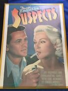 Suspects Promotional Poster - Illustration By Vincent Topazio For Vintage Books