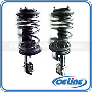 2x Quick Complete Front Strut Coil Spring Assembly For 90-93 Chrysler New Yorker
