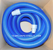 Carpet Cleaning 50 Ft Extractor Vacuum 2 Hose W/ 2 Cuffs And 50 Ft Solution Hose
