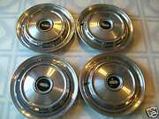 1968 Oldsmobile 14 Hubcaps / Set Of Four