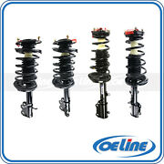 4x Complete Strut Spring Coil Shock Absorber For Toyota Corolla Chevrolet 1.8l