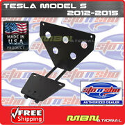 Sto N Sho 12-16 Tesla S Quick Release License Plate Mounting Relocator Sns59