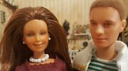 Pair Of Customized Hasbro Maxie/jem And Todd/rio Dolls With Complete Outfits