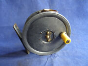 Vintage Dingley Pillared Core Trout Fly Reel With Brass/bronze Line Guard