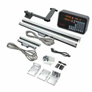 2 Axis Lathe Digital Readout Dro Package With Optical Encoders From Machine-dro
