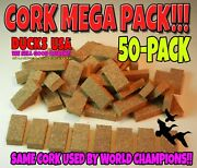 Duck Call Wedges Real Cork 50-pack From Premier Call Maker Best Quality 50-pack