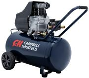 Campbell Portable Electric Air Compressor Tank Horizontal Pump Single Stage