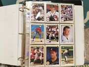 Box Of Baseball Cards. 1990-1996. Fleer, Donruss, Upperdeck, Tops, And Many More