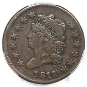 1811/0 S-286 R-3 Pcgs Vf 25 Classic Head Large Cent Coin 1c