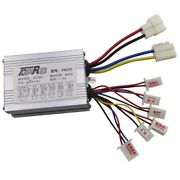 Motor Brush Dc Speed Controller Box For Electric Bicycle Scooter Bike 24 36 48v