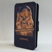 Chewbacca Wooky Star Wars Jedi Flip Phone Case Cover For Iphone Samsung