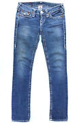 True Religion Jeans And039billy Super Tand039 Size 25 L33 Au7 Us3 Euc Rrp 499 Women Girls