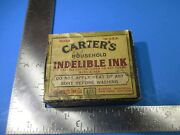 Carterand039s Household Indelible Ink Made In Usa Original Bottle And Box Vs25 B3