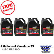 Yamalube 4 Gallons Of 2s 2 Stroke Semi-synthetic Engine Oil Lub-2strk-s1-04