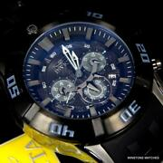 Men's Marvel Black Panther Sea Spider Sport 50mm Chronograph Watch New