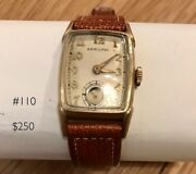 Hamilton Menand039s 1951 Jeffrey Watch. 10k Yellow Gold Filled.andnbsp