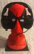 Deadpool Comic Stand Rest Headphones Xbox Bose Headset And Glasses Display Holder