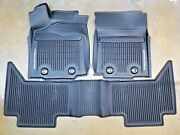 Toyota Tacoma 2018-21 At Double Cab All Weather Rubber Floor Liner Mat Oem New