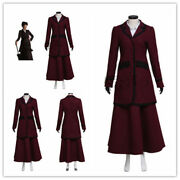 Doctor Who 8th Missy Mistress Cosplay Costume Made Ladies Top Skirt Shirt!xand039dand039z