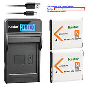Kastar Battery Lcd Usb Charger For Sony Np-bn1 Bc-csn And Sony Cyber-shot Dsc-wx9