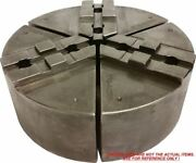 Rsw-8200s Steel Round Jaws For Metric Tongue And Groove 8 Chuck W/a 2 Ht 3pc Set