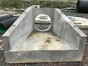 Concrete Head Wall Headwall Culvert Pipe Twinwall Second Flap Valve Drain Outlet