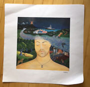 Billy Joel - River Of Dreams - Lithograph Numbered 100/500 Rare