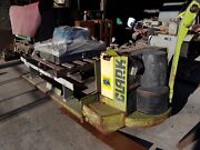 Clark Model P40f Electric Pallet Jack 4000lb, Wall Panel And Charging System