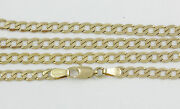 16-24 3.9mm 18k Yellow Gold Open Link Chain New Solid Italian Necklace 2377