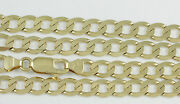 18-24 5.8mm 18k Yellow Gold Open Link Chain New Solid Italian Necklace 2383