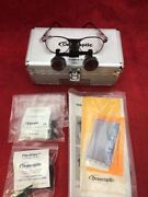 One Pair Orascoptic Dental Loupe Glasses Magnification W/case Type 4 See Listing