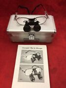 One Pair Orascoptic Dental Loupe Glasses Magnification W/case Type 5 See Listing