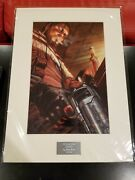 Starcraft Raynor Alex Ross 547 Laser Cell Lithograph Collectible Poster