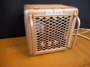 Vintage Arvin Electric Space Room Heater Tan For Parts Not Working Repurpose