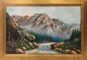 Shortening Winter's Day By William Vincent Kirkpatrick Framed Art Painting