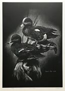Robert Pow Teal Ducks 1996 | Signed Print | Canadian | Others Avail | Gallart