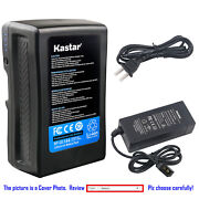 Kastar Battery + Charger For Sony V Mount V Lock Battery And Sony Hdw-f900r