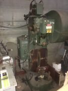 Rousselle 20 Ton Ton Adjustable Bed Horn/punch Press