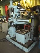 Alzmetal Radial Drill 3and039 X 9 - Model Ab3/r - With Power Elevation