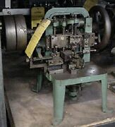 Cable Chain Machine - Bench Model - Wire Size .015 - Set Up For Jump Rings